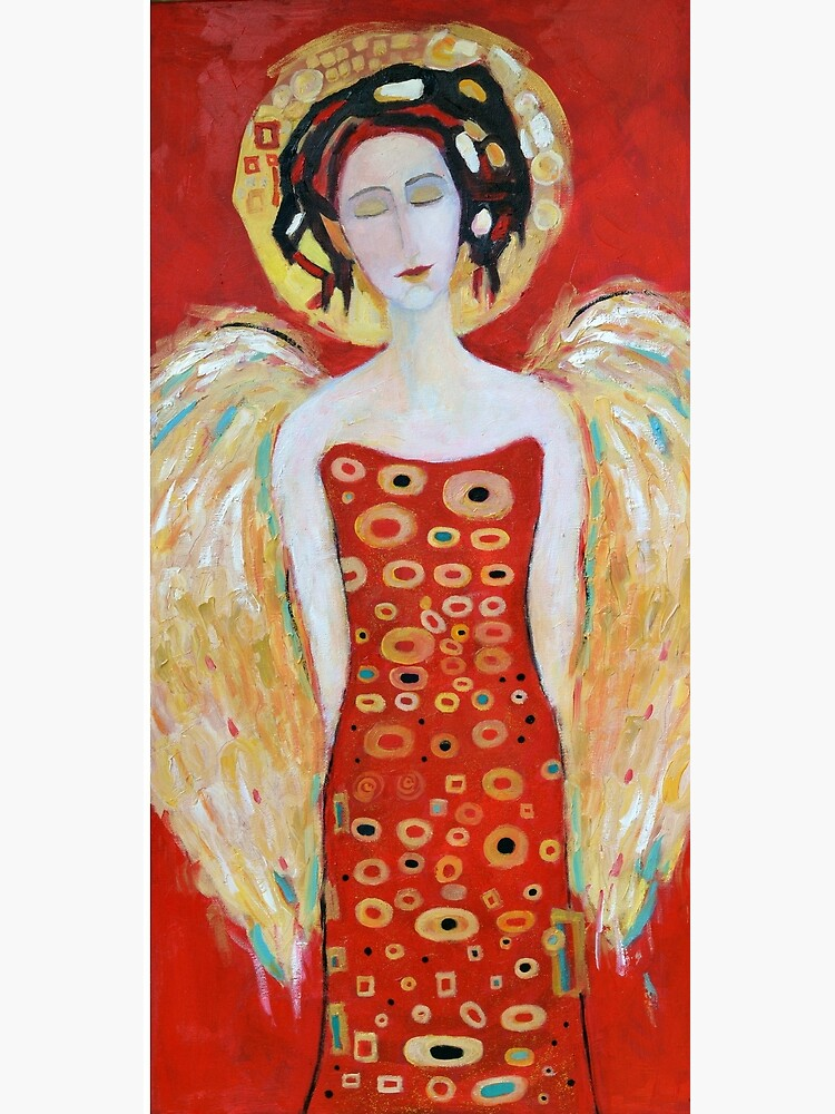 Guardian Angel Red White Christmas Angel Wings Decor for Wall Gift