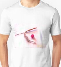 Glowing Grape, straw and feather T-Shirt