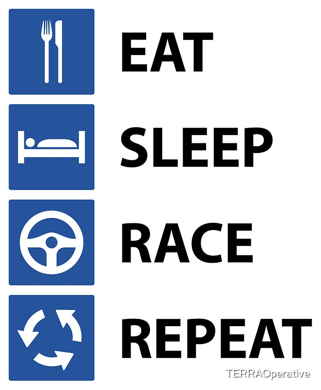 eat sleep race tattoo - photo #8