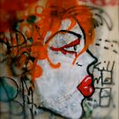 face on the wall by Tim Martin