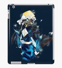 Raikage Static Shock (black jacket) iPad Case/Skin