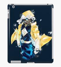 Raikage Static Shock (yellow jacket) iPad Case/Skin