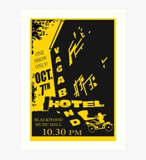 The Vagabond Hotel Flyer (Gypsy) Art Print