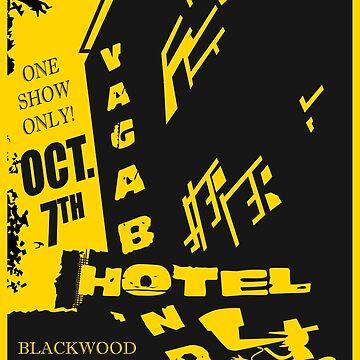 The Vagabond Hotel Flyer (Gypsy) by CLMdesign