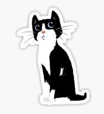Tonks the Cat Sticker