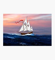 Nina Christopher Columbus Photographic Print