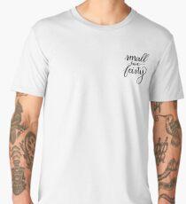 'Small But Feisty' Calligraphy Men's Premium T-Shirt