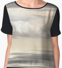 Painterly View - from Funchal Madeira  - JUSTART ©  Women's Chiffon Top