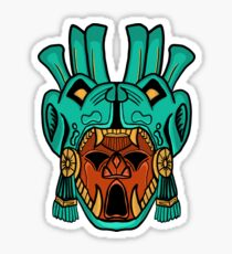 Mayan Mask Sticker