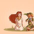 « Legend of Zelda - Link et Malon » par ZackHitori