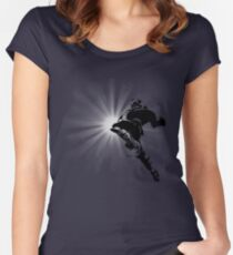 The Knee of Justice Women's Fitted Scoop T-Shirt