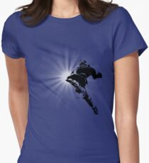The Knee of Justice Women's Fitted T-Shirt