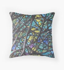 Tree - Declination 2 Throw Pillow