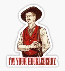 Doc Holliday - Ich bin dein Huckleberry Sticker