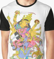 Hindu Goddess Durga Graphic T-Shirt