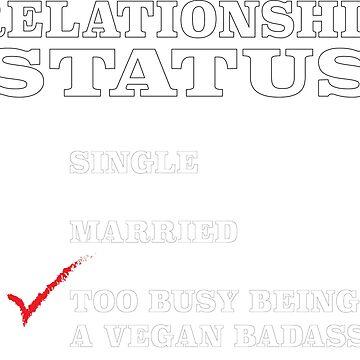 Vegan Relationship Status by FOUNDationYOU