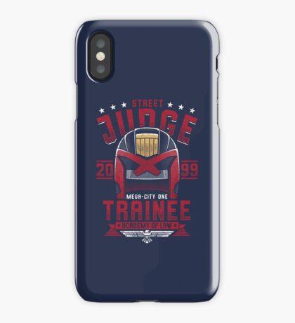 Street Judge Trainee iPhone Case/Skin