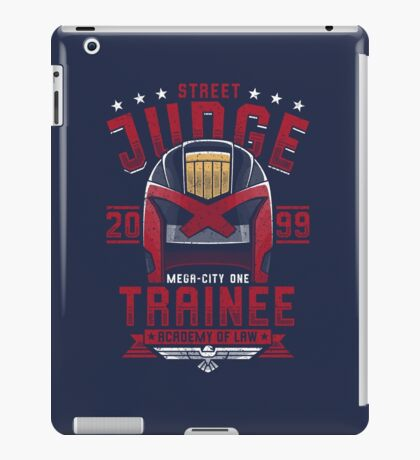 Street Judge Trainee iPad Case/Skin