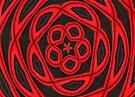 Pattern in red by missmoneypenny