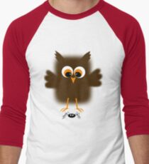 Owl-rachnophobia Men's Baseball ¾ T-Shirt