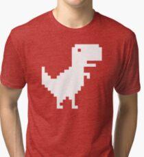 Offline Dino Tri-blend T-Shirt