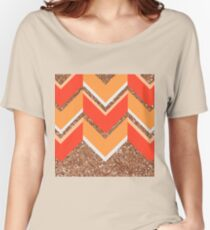 Spicy Chevron Women's Relaxed Fit T-Shirt