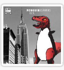 PENGUINOSARUS REX™ INVADES NEW YORK Sticker