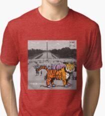 STIGERSAURUS™ GOES TO WASHINGTON Tri-blend T-Shirt
