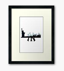 Yankee State Framed Print