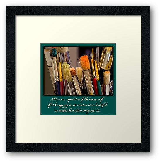 Art is an Expression of the Inner Self. by David Chappell