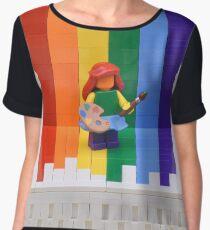 Pride Women's Chiffon Top