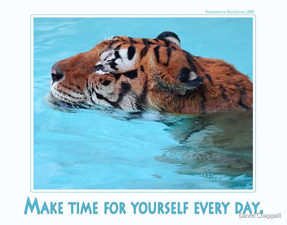 Make Time For Yourself by David Chappell
