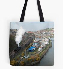 the grosmont  to whitby run Tote Bag