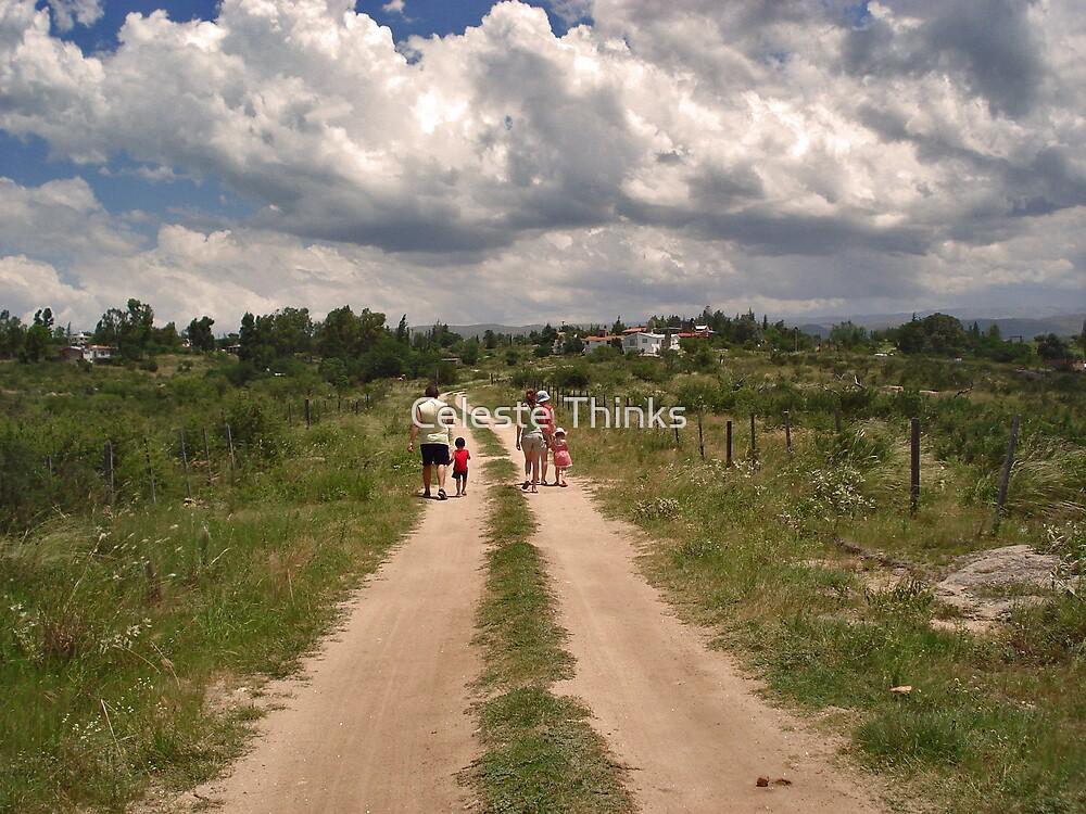 Summer Walk by Celeste Thinks