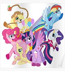 The Mane 6 Poster
