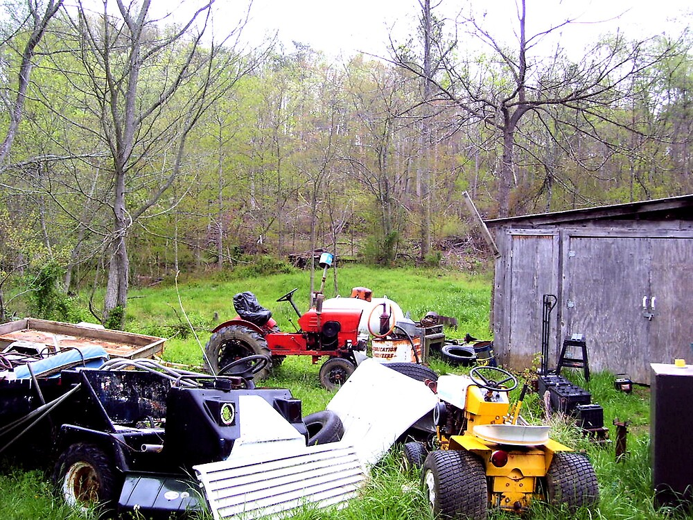 Tractor's put out to pastor by mpeakclewett