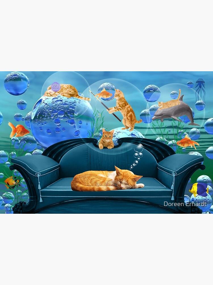 Tabby Dreams by SalonOfArt