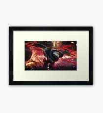 PROJECT: Zed Framed Print
