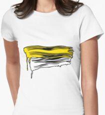 Lichtenstein Brush Strokes: Yellow T-Shirt
