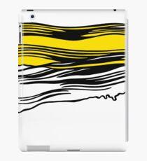 Lichtenstein Brush Strokes: Yellow iPad Case/Skin