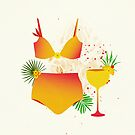 The Bikini Series: Tequila Sunrise by Sybille Sterk