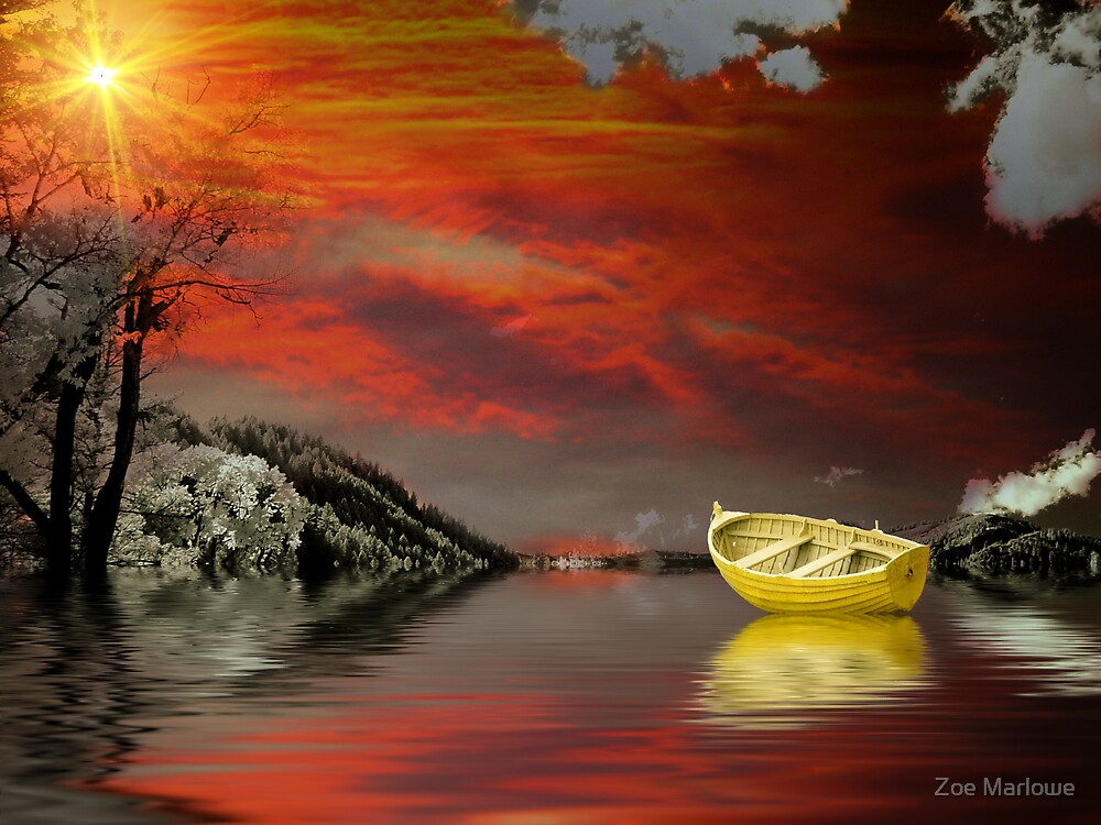 In The Glowing Rays by Zoe Marlowe