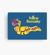 Yellow Serenity Canvas Print