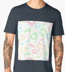 Colorful abstract pattern. Men's Premium T-Shirt