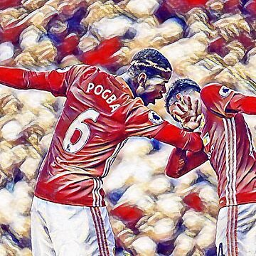 Pogba and Lingard Dab by HTWallace