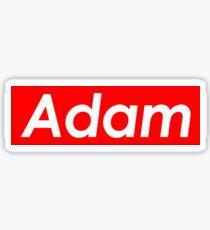 Adam Supreme Sticker