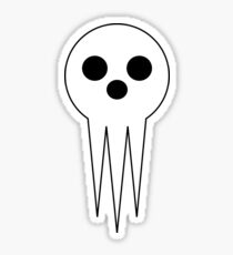 Shinigami skull Sticker