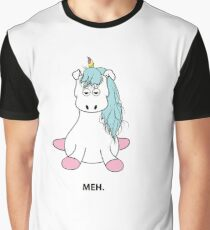 unicorn meh life Graphic T-Shirt