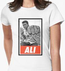-LEGEND- Muhammad Ali Women's Fitted T-Shirt
