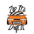 Zip It & Drift It Nissan S14 by theothergarage